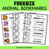 Student Gift - Animal Bookmarks