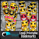 Emoji Printable Bookmarks