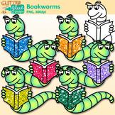 Bookworm Clip Art: Classroom Library Graphics {Glitter Meets Glue}