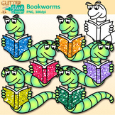 Bookworm Clip Art {Back to School Graphics for Your School