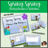 FREE Boom Cards Spring Poetry Reader and Activities