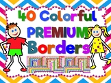 Bundle 40 Premium Borders / Frames for your Main Cover