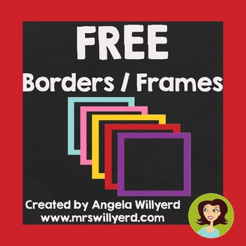 FREE Borders / Frames for Personal or Commercial Use