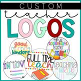 Custom Round Logo & TPT Banner