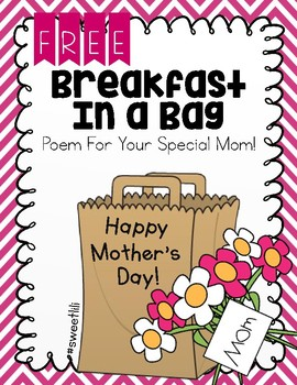 FREE Breakfast In A Bag Mother's Day Treat