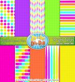 FREE Bright Neon Digital Scrapbook {Zip-A-Dee-Doo-Dah Designs}
