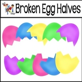FREE! Broken Egg Halves