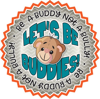 FREE! Buddy Badges, 2 Per Page, 300 DPI, PDF in Vector Format