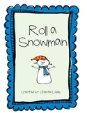 FREE-Build a Snowman (pick your subject game)