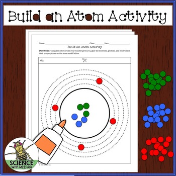 FREE Build an Atom Activity with a Hole Punch and Glue by Science ...