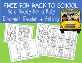 FREE Bully Prevention Emergent Reader
