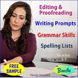 FREE Bundle Excerpt - Language Skills Practice - Editing Sentences
