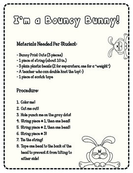 Bunny Craft-Cheap & Easy!