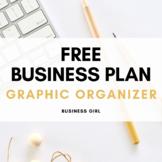 FREE Business Plan Note-Taking Graphic Organizer