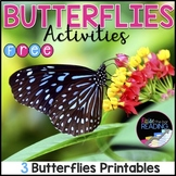 FREE Butterflies Activities - Insects Unit or Informationa
