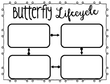 FREE Butterfly Lifecycle
