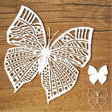 FREE Butterfly SVG files for Silhouette Cameo and Cricut