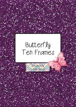 {FREE} Butterfly Ten Frame Set