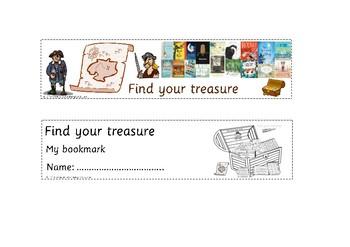 "FREE CBCA Australia 2018 Book Week ""Find Your Treasure"" Bookmarks"