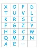 FREE! Letter Recognition - Progress Monitoring Tool