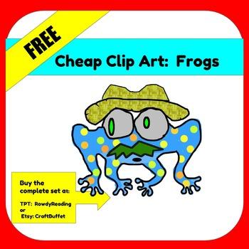 FREE CHEAP CLIP ART:  Frog
