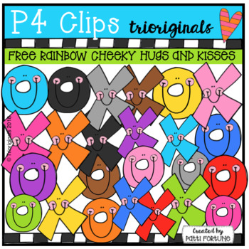 FREE CHEEKY Hugs and Kisses (P4 Clips Trioriginals)