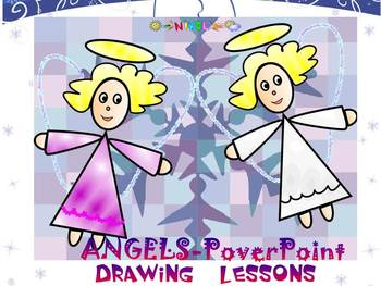 Angels - Drawing lessons - PowerPoint presentation