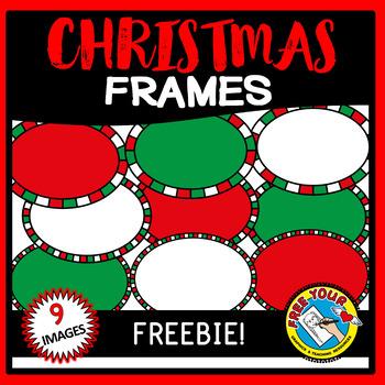 FREE CHRISTMAS CLIPART FRAMES