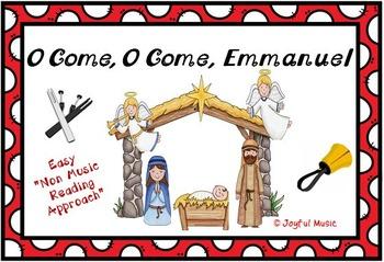 FREE CHRISTMAS HYMN Easy Tone Chimes & Bells O COME, O COME, EMMANUEL