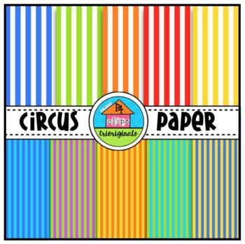 FREE CIRCUS TIME Digital Paper (P4 Clips Trioriginals)
