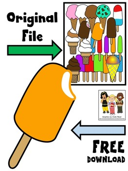FREE CLIP ART * ICE CREAM