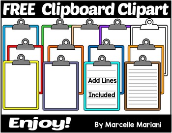 FREE CLIPBOARD CLIP ART