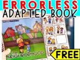FREE Errorless Adapted book: In the Neighborhood