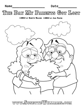 FREE COLORING PAGES: The Day My Parents Got Lost