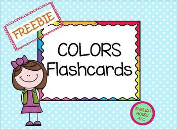 FREE! COLORS Flashcads