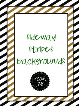 "FREE COMMERCIAL USE ""Sideway Stripes"" Backgrounds"