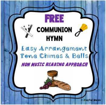 FREE COMMUNION HYMN Easy Chimes & Bells Arrangement HERE, O MY LORD, I SEE THEE
