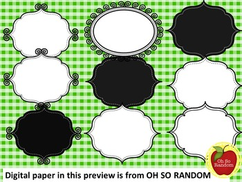 FREE COVER PAGES/DOODLE BORDERS/FRAMES-set 3 -COMMERCIAL USE