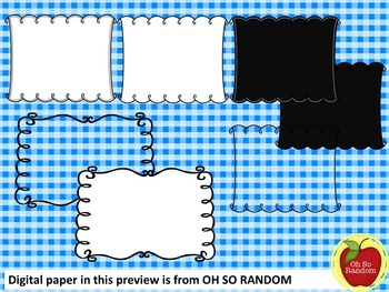 FREE COVER PAGES/DOODLE BORDERS/FRAMES-set 4 -COMMERCIAL USE