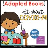 FREE COVID-19 / Coronavirus Printable + Digital Adapted Books