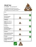 FREE - CRAAP Test .DOC - Reliable Sources, Stem, Tech, Internet, Research