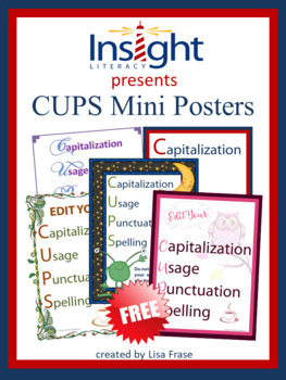 FREE CUPS Conventions Poster