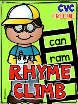 Rhyme CVC Short A Word Family