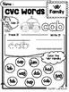 FREE CVC Words Worksheets
