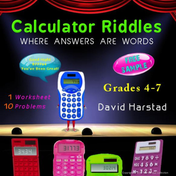 Math Worksheet Online Pdf Free  Calculator Riddles Printable Math Worksheet By The Harstad  Synonym Worksheet 3rd Grade Excel with Math Counting Worksheets Excel Free  Calculator Riddles Printable Math Worksheet Worksheets On Prepositions For Grade 6 Word