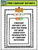 FREE Calendar Borders {P4 Clips Trioriginals Digital Clip Art}