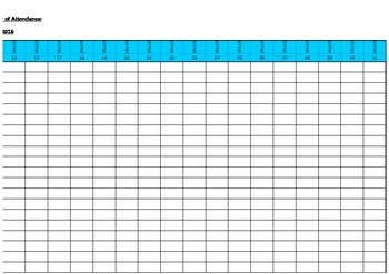 FREE : Calendar Month / Year 2015, 2016, 2017, 2018, 2019 - Classroom management
