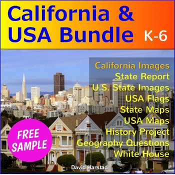 FREE   California Regions and Geography   Lake Tahoe Poster | TpT