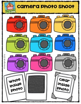 FREE Camera Photo Shoot  (P4 Clips Trioriginals Digital Clip Art)