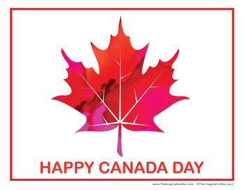 Canada Day Coloring Pages -  Free Maple Leaf Art